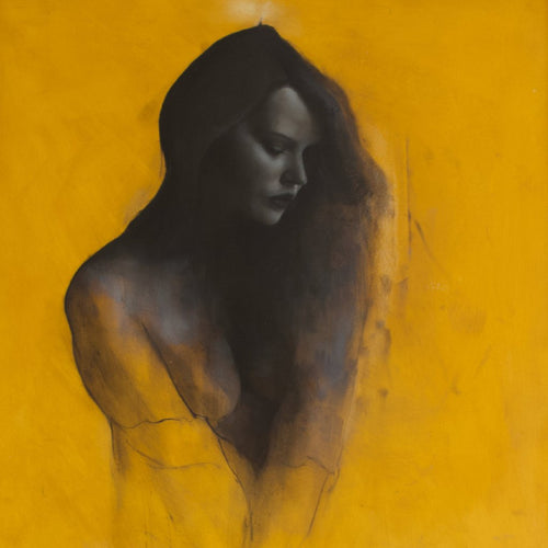 Grace by Patrick Palmer, Oil on Board