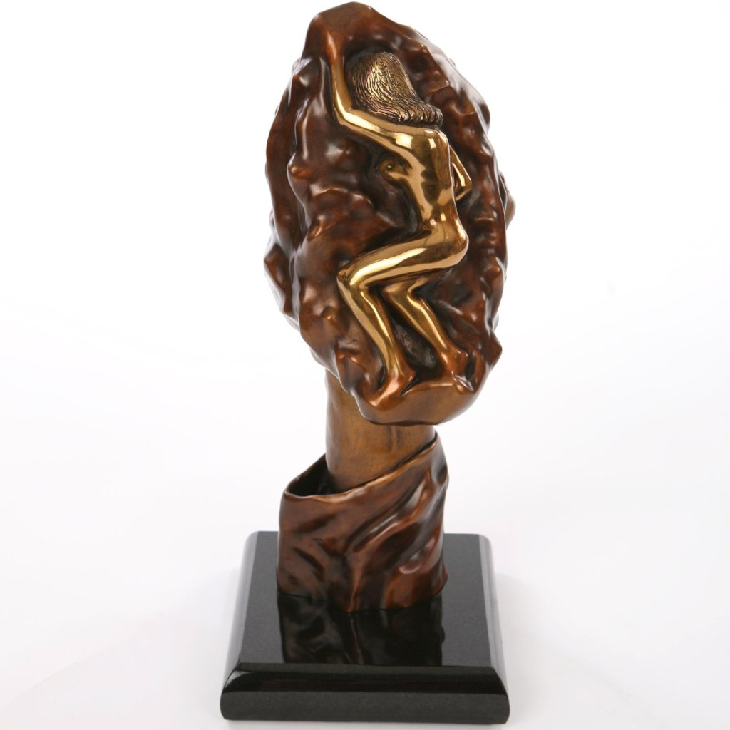 Helping Hand by K.G. Romine, Bronze Sculpture