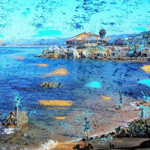 Monterey Beach by Henry Contantino