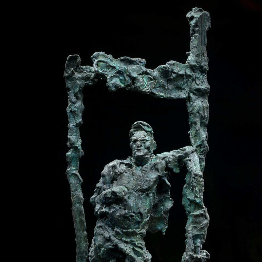 Sovetskaya Street Break by Alexander Sviyazov, Bronze Sculpture