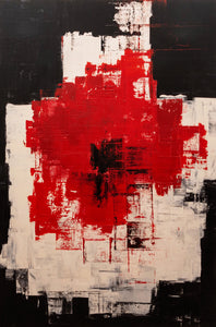 """No.3"" By Raoul Tomassi, Acrylic on Canvas"