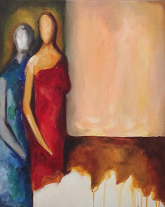 Journey by Sejal Banker, Acrylic on Canvas