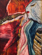 The Throne by Mel Cheyenne, Mixed Media on Canvas