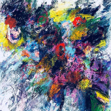 Spring Wishes by Wafa Abbasi, Mixed Media on Canvas