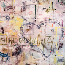 Shine by Sharon Muss, Mixed Media on Wood