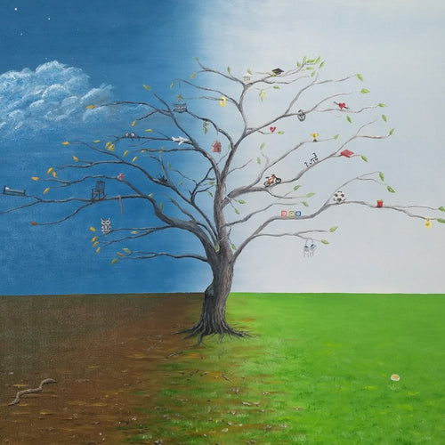 Spirit of Eden by Kevin Daly, Oil on Canvas