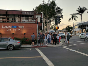 Join us for ART WALK Laguna - Artist Set-up First Thursday of every month 6-9pm bh