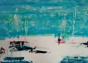Martini Dry by Tiberio Savonuzzi, Mixed Media on Canvas