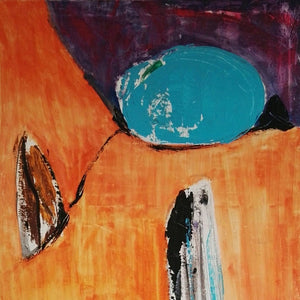 Indian Summer by Tiberio Savonuzzi, Mixed Media on Canvas