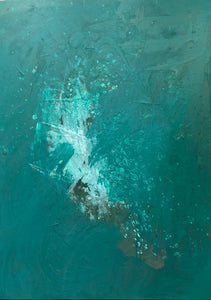 """Sea Change no. 2"" By Jillian Crocker, Acrylic on Canvas"