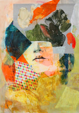 A Moment in Time by Caren Ginsberg, Mixed Media on Paper