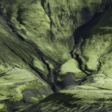 Iceland Mountainside by David Reinfeld, Archival Photography Print