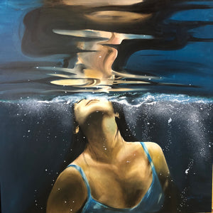 """Into the light"" By Victoria Heath, Oil On Canvas"