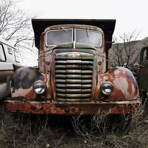 Junkyard Truck, Sedona by David Reinfeld, Archival Photography Print