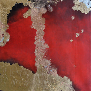 Terra Pericolosa by Kerstin Paillard, Mixed Media on Canvas