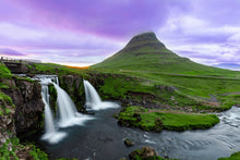 """Kirkjufellsfoss"" By Armand Nour, On Archival Paper"