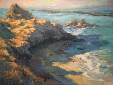 """Pirates Cove"" By Lorraine Dawson, Oils on Panel"
