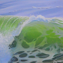 Lime Barrel by Yeshe Jackson, Acrylic on Canvas
