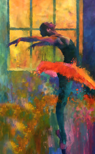 """Love Dance"" By Nick Stamas, Oil on Canvas"