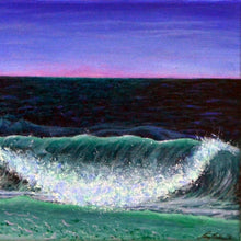 Luminescent Sea by Lena Stollinger, Acrylic on Canvas