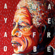 Mandela - Always Lead From Behind by Charles Bongers, Acrylic on Canvas