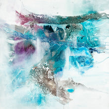 The Lagoon 2 by Olivia Alexander, Mixed Media on Canvas