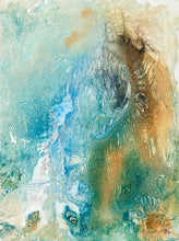 Ocean Drift 4 by Olivia Alexander, Mixed Media on Paper