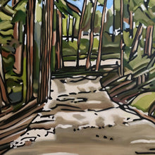 Park Trail by Craig Ford, Oil on Canvas