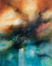 Rainy Day by Maria Biederbeck, Acrylic on Canvas