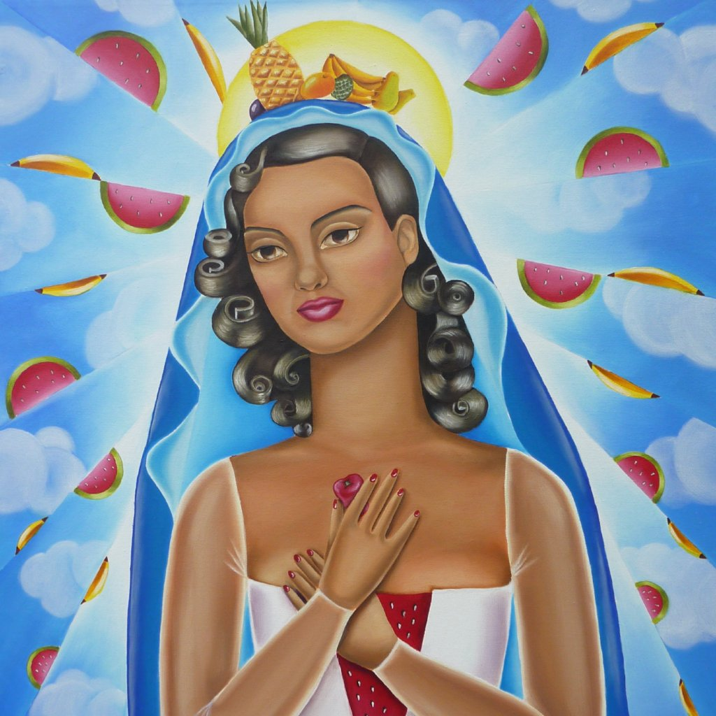 Regina Tropicalis by Ines Mora, Oil on Canvas