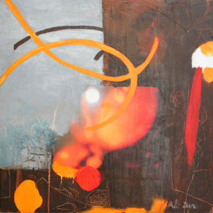 Round Ways by Adi Zur, Mixed Media on canvas