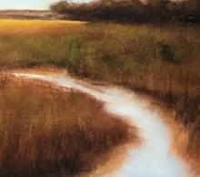 """On The Marsh"" By Carol Harris, Oil on Canvas"