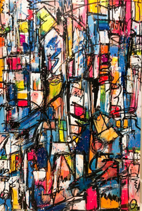 Broken City Series 10 by Austin Reed, Acrylic on Canvas
