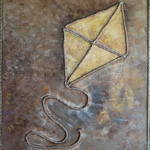 The Kite by Nikolena Shopova, Oil on Canvas
