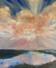 Heavenly by Lesa Vander Bie, Oil on Canvas