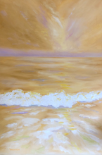 Golden Shores by Lesa Vander Bie, Oil on Canvas