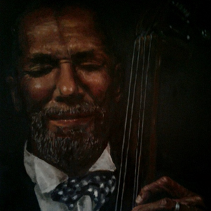 """Ron Carter"" By Michael Gutkin, Oil on Canvas"