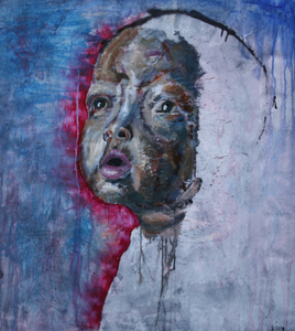 """Esperansa"" By Rafael Ratto, Mixed Media on Canvas"