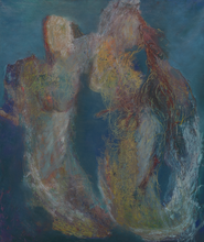 """Mermaids"" By Gym Halama, Oil on Canvas"