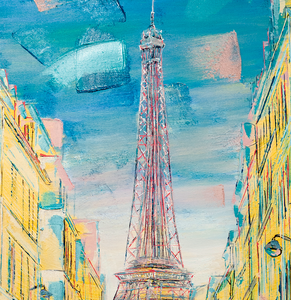 """Parisian Hues""  By Damien March, on Canvas"