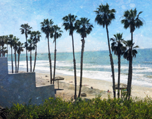 """San Clemente Shoreline"" By Anne Warfield, on Giclee Smooth Fine Art Paper"