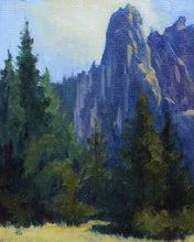 """Yosemite""  By Claire Miller, Oil on Linen Board"