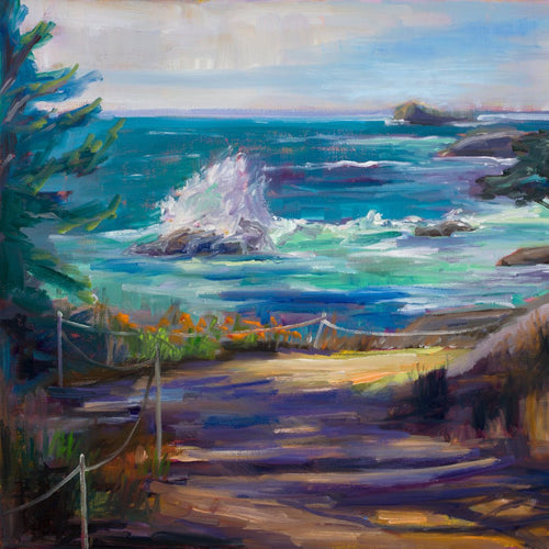 Call of the West by Marie Massey, Oil on Canvas