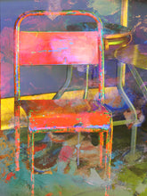 """Sit With Me"" By Carol Levin, Printed on Metallic Paper & Acrylic"