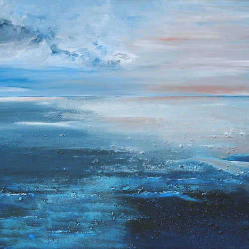 Sound of the Sea by Heidi Barnstorf, Mixed Media on Canvas