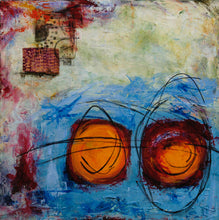 Spark of Inspiration by Sandra Wilson, Mixed Media on Canvas