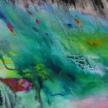 The Dancing Sea by Olivia Alexander, Mixed Media on Canvas