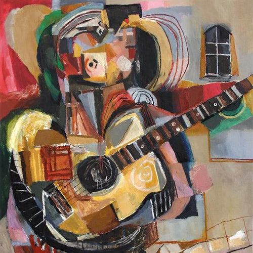 Troubadour by Reinder Oldenburger, Oil on Canvas