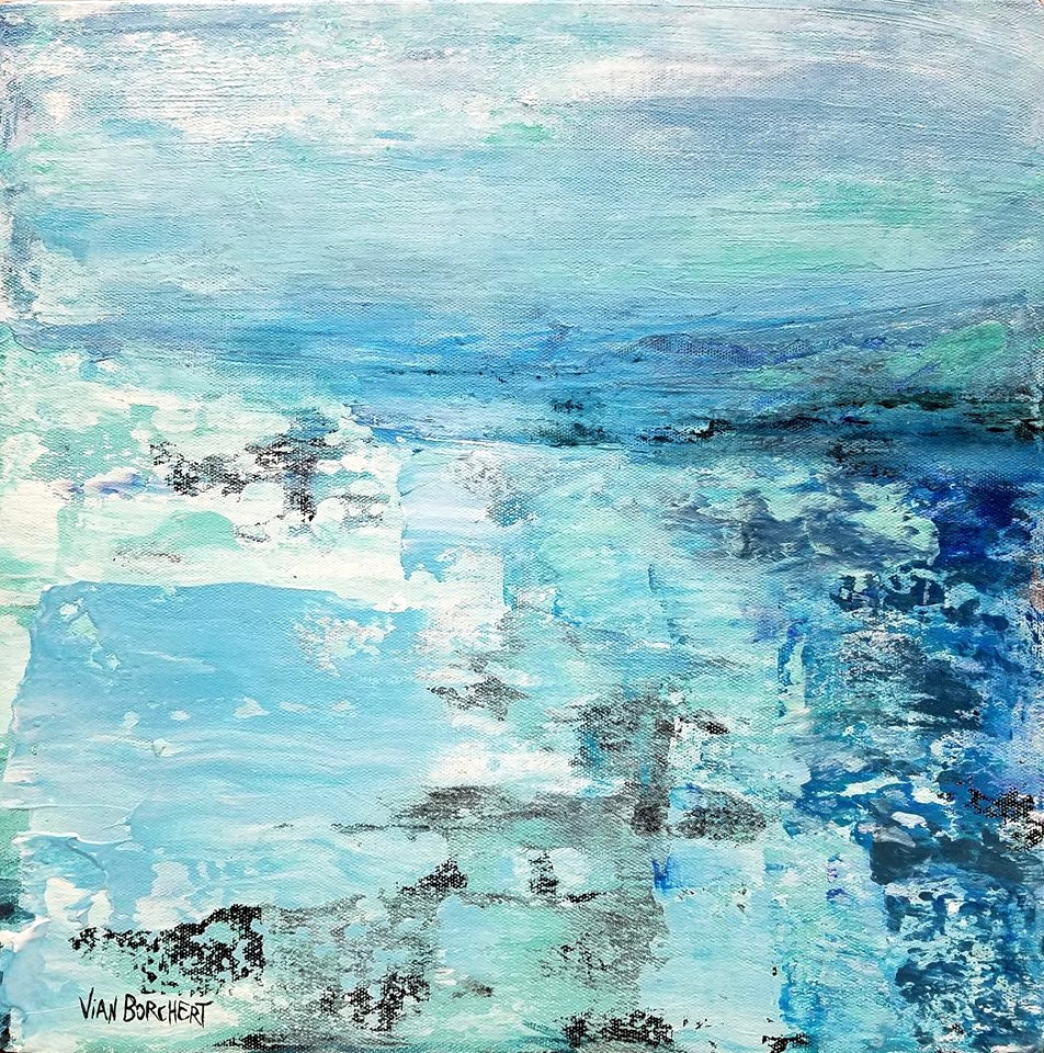 Seas by Vian Borchert, Acrylic on Canvas
