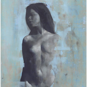 Violet by Patrick Palmer, Oil on Board